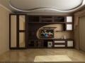 Мебель для гостиной с комбинированными  фасадами